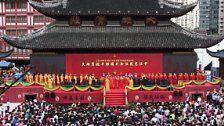 Shanghai: Tempel 30 Meter verschoben