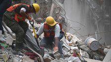 Fast 300 Tote nach Erdbeben in Mexiko