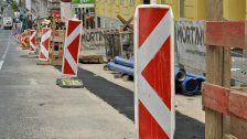 Kreuzung auf der Hirschstettner Straße wird zum Kreisverkehr