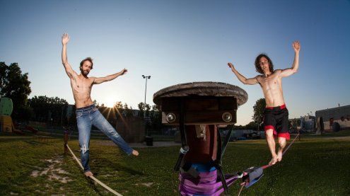 Neue Sportarten ausprobieren beim Naturfreundefestival Wien