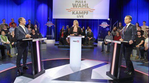 Untergriffige TV-Konfrontation zwischen Kern und Strolz