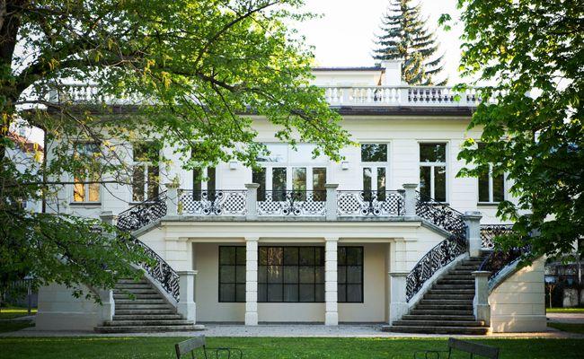 Die Klimt Villa beherbergt das letzte Atelier des Künstlers Gustav Klimt.