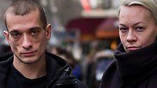 Aktionskünstler zündete Bankfiliale in Paris an