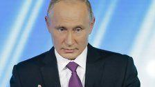 Putin-Auftritt mit viel Schelte für die USA