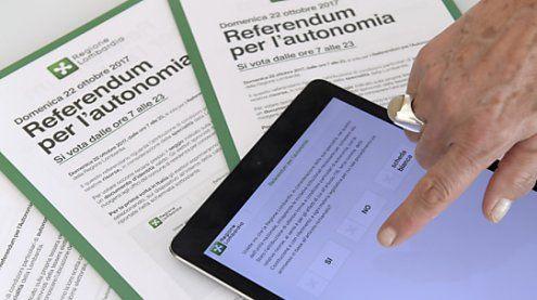 Bürger in Lombardei und Venetien stimmten für mehr Autonomie