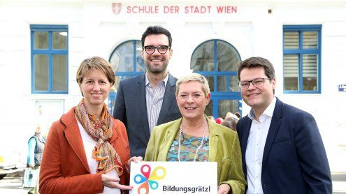 In Wien-Leopoldstadt entsteht das nächste Bildungsgrätzl