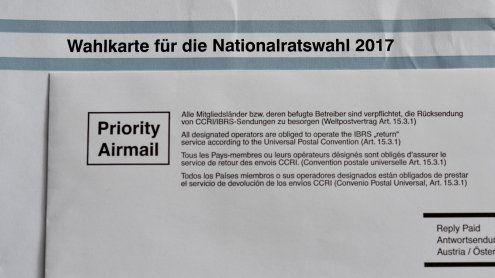Neuer Wahlkarten-Rekord in Wien