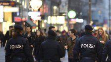 Schwerpunktaktion der Wiener Polizei
