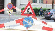 Straßenbauarbeiten am Wochenende in Favoriten
