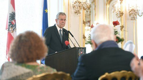 """Van der Bellen: """"Keine Toleranz für Antisemitismus in Österreich"""""""