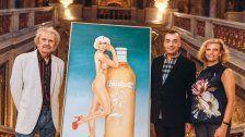 Almdudler-Gemälde von Mel Ramos im KHM Wien