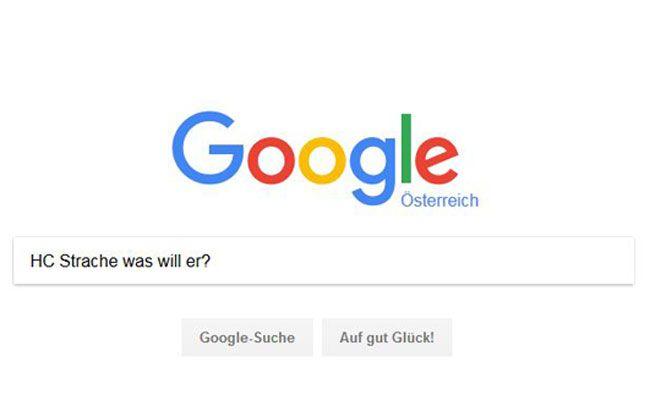 Interessante Fragen werden vor der Nationalratswahl auf Google gestellt.