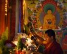 Advent einmal anders beim tibetischen Weihnachtsmarkt in Hernals