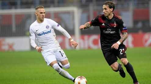 Europa League: AC Milan besiegt Austria Wien erneut klar mit 5:1