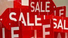 Ausverkauf des Jahres beim Black Friday Sale