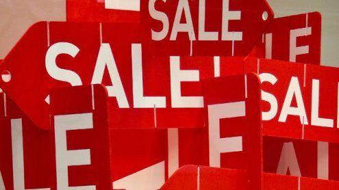 Ausverkauf des Jahres beim alljährlichen Black Friday Sale