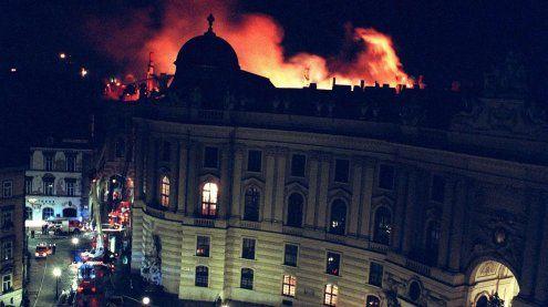 Ursache unklar: Zum 25. Mal jährt sich der Wiener Hofburgbrand