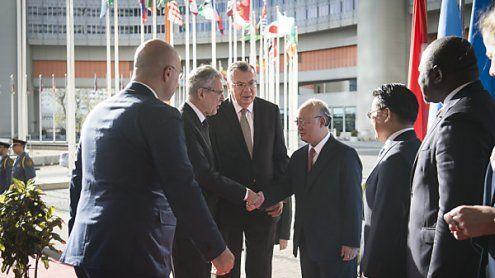 Van der Bellen lobte die Arbeit der UN-Organisationen in Wien