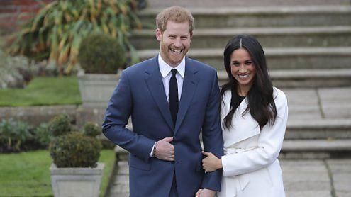 Prinz Harry und Meghan Markle: Hochzeitstermin steht fest