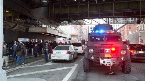 Explosion in New Yorker U-Bahn-Station war Terroranschlag