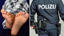 Bloßfüßiger Einbrecher lag in Wohnung in Wien