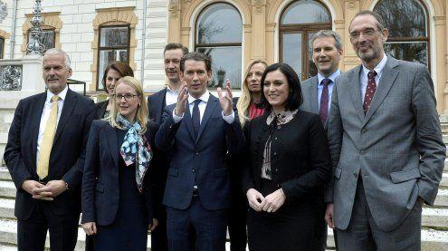 Das sind die Regierungsmitglieder