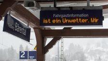 """D: Kein Zugverkehr wegen """"Friederike"""" möglich"""