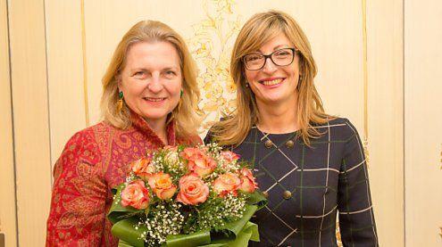 Kneissl und Sachariewa für EU-Integration des Westbalkans