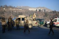 Zehn Tote bei Angriff auf Luxushotel in Kabul