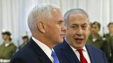 US-Pence traf Netanyahu in Jerusalem