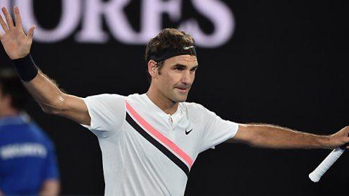Federer souverän in Melbourne