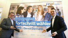 Kärntner FPÖ präsentiert erste Wahlkampf-Plakate