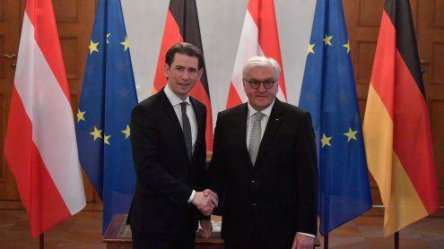 BK Kurz beendete Berlin-Besuch mit Empfang bei Steinmeier