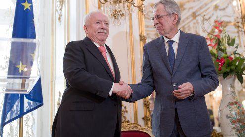Bundespräsident Van der Bellen empfing Wiener Stadtregierung