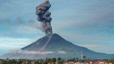 Indonesien: Vulkan Sinabung ausgebrochen