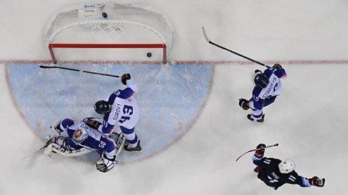 USA mit 5:1-Sieg über Slowakei im Eishockey-Viertelfinale