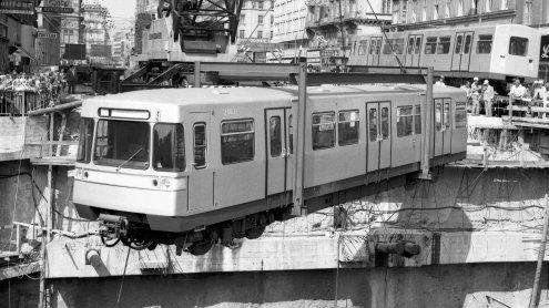 Happy Birthday, liebe U-Bahn: Vor 40 Jahren startete Betrieb in Wien