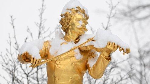 Wintereinbruch mit bis zu 40 cm Neuschnee: Schnee auch in Wien