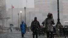4.400 Flüge in USA wegen Schneesturms gestrichen