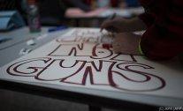 Weltweite Solidarität für Demos gegen Waffengewalt