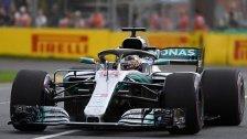 Weltmeister Hamilton in Melbourne auf Pole