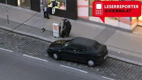 Herrenloser Koffer gefunden: Polizeieinsatz in der Alserstraße