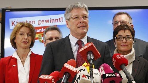 Nach Landtagswahl in Kärnten: SPÖ-ÖVP Verhandlungen starten