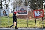 """""""Ich bin keine Politikerin"""": Die Plakate zur Wahl 2018"""