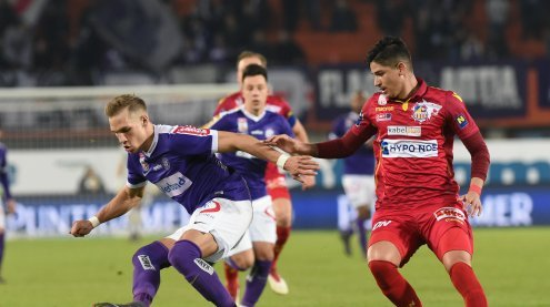 Austria setzte sich mit 4:0 gegen Schlusslicht St. Pölten durch