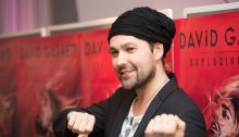 Geiger David Garrett muss Konzerte in Wien absagen
