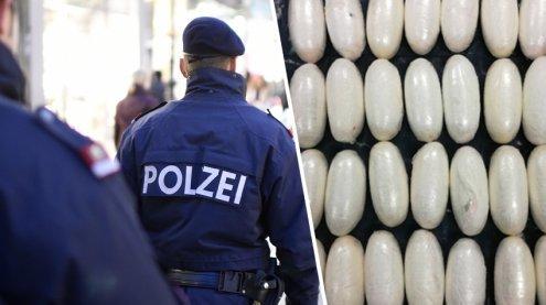 Kokain im Wert von über 13.000 Euro wurde in Wien sichergestellt