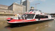 Twin City Liner fährt für UNICEF nach Bratislava