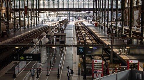 Zehnter Streiktag legt erneut den Zugverkehr in Frankreich lahm