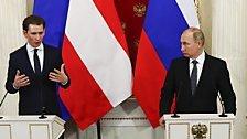 Kurz telefonierte mit Putin wegen Syrien-Krise